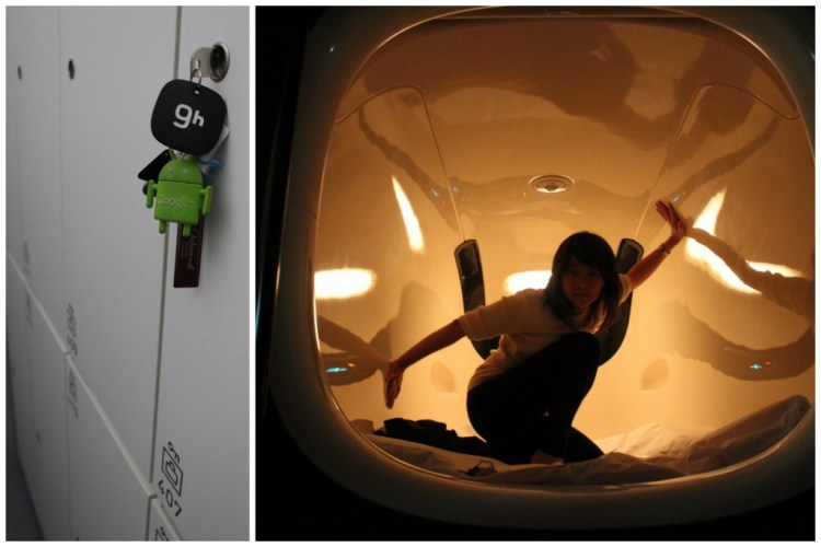 9h, quite possibly Japan's only design capsule hotel